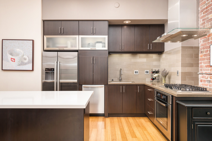Condo Interior Modern Kitchen